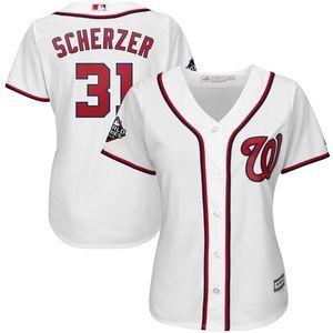 Women's Max Scherzer 2019 World Series Jersey